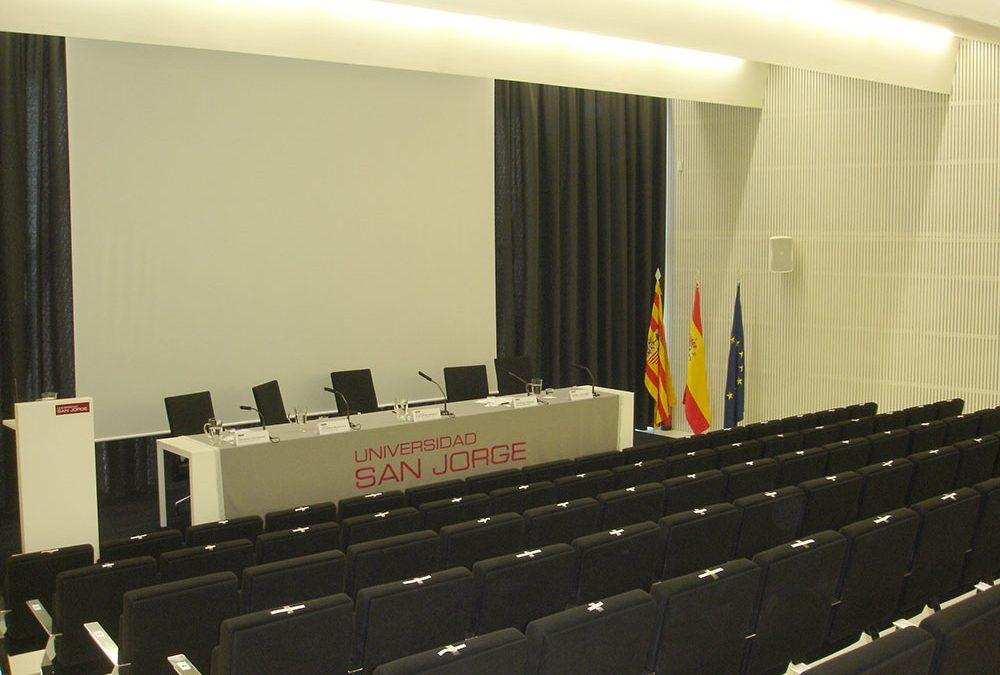 Salón de Actos de la Universidad de San Jorge (Zaragoza)