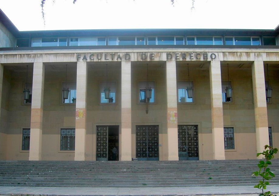Facultad de derecho Zaragoza